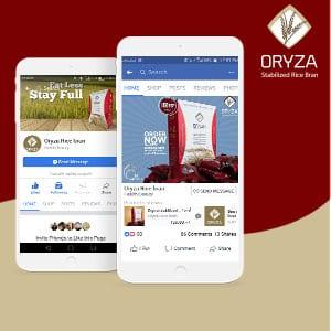 oryza rice bran